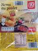 Nems au poulet avec sauce - Produit