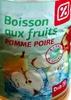 Boisson aux fruits pomme poire - Produit