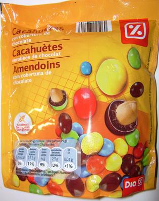 Cacahuètes enrobées de chocolat - Product
