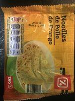 Noodles de pollo - Producte