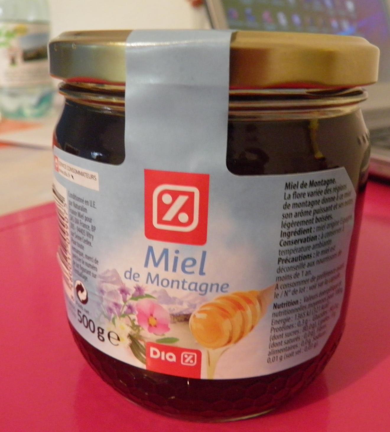 Miel de montagne - Produit - fr