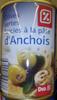 Olives vertes farcie à la pâte d'anchois - Product