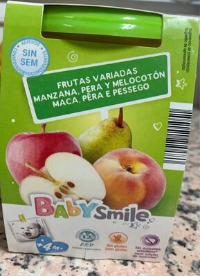 Puré tres frutas