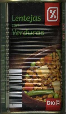 Lentejas con verduras Dia - Product - es