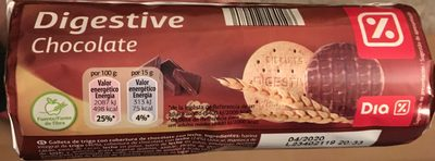 Digestive chocalat - Producte