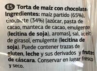 tortitas de maiz - Ingredients