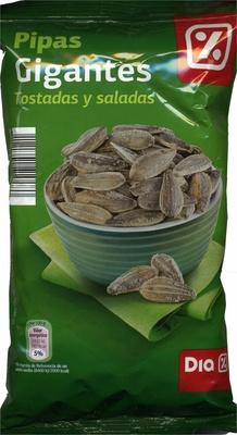 Semillas de girasol con cáscara tostadas con sal gigantes - Producte