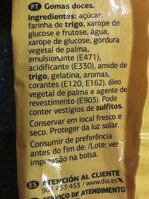 Bonbons - Ingredients