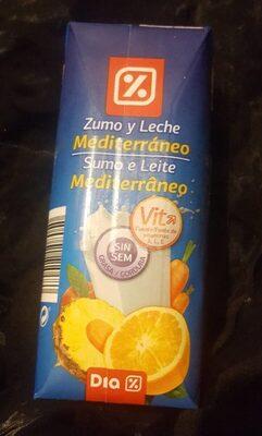 Zumo y Leche MEDITERRÁNEO