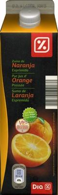 """Zumo de naranja exprimida refrigerado con pulpa """"Dia"""" - Producte - es"""