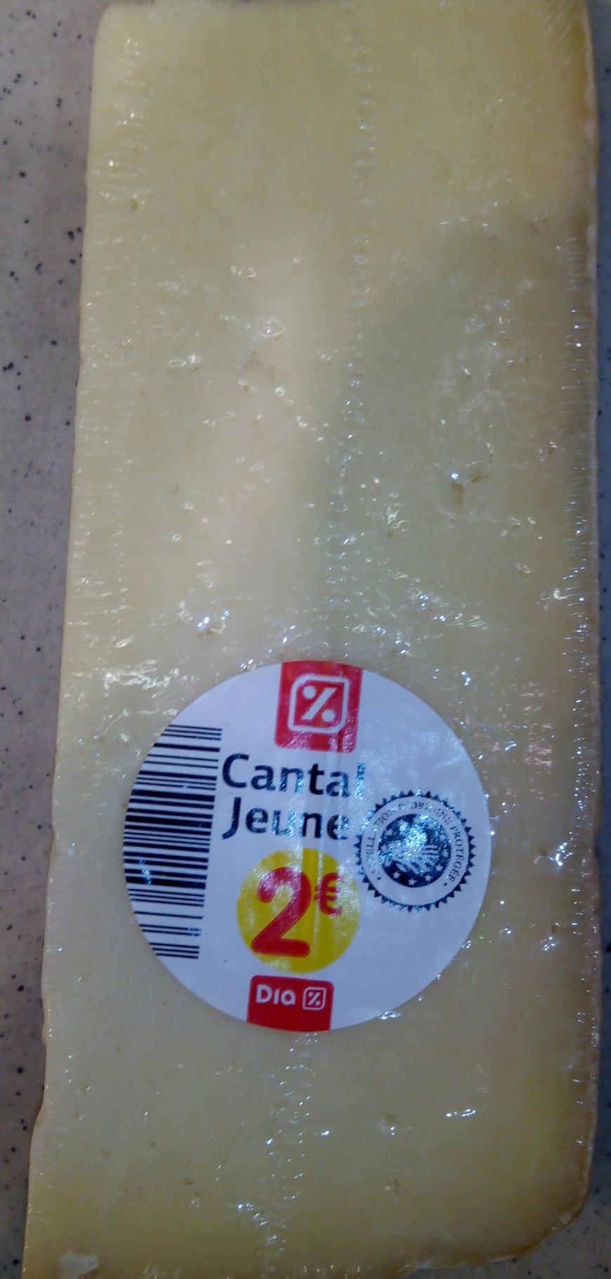 Cantal Jeune AOP (30 % MG) - Product - fr