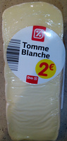 Tomme blanche (32% MG) - Product - fr