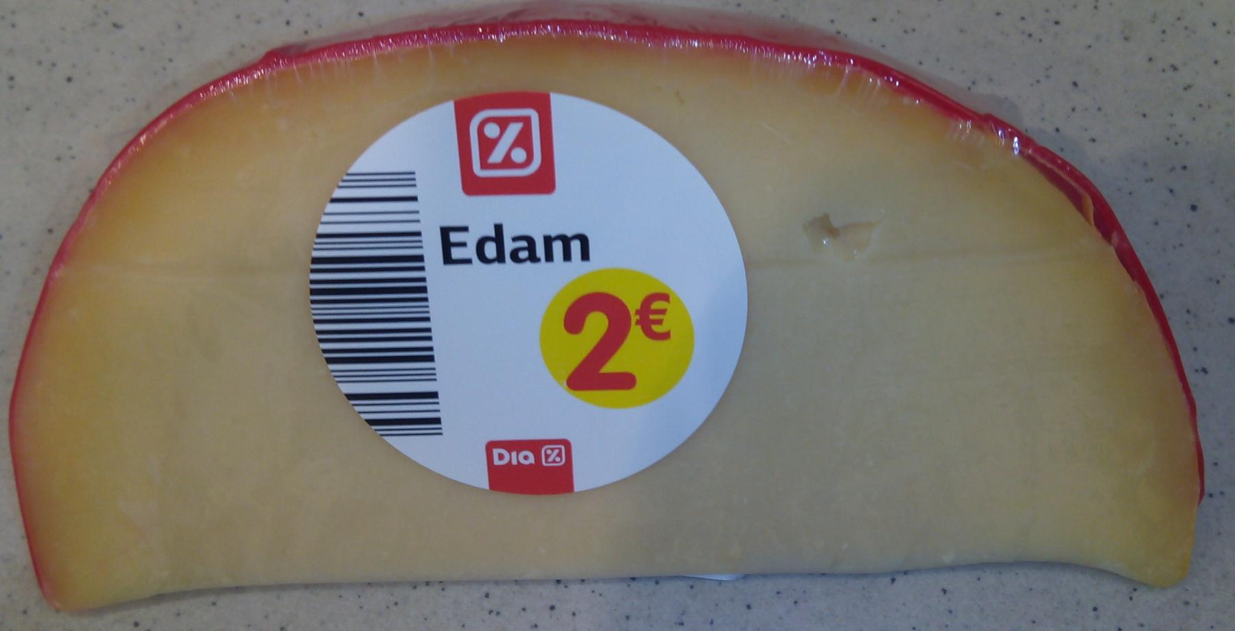Edam (24% MG) - Product - fr