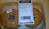 4 donuts natures sucrés - Produto - fr