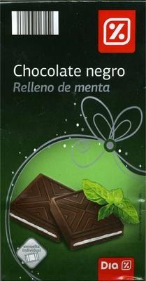 Mini tabletas de chocolate negro rellenas de menta - DESCATALOGADO - Producto - es