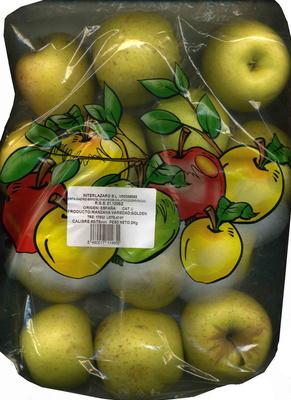 Manzanas Variedad Golden Delicious