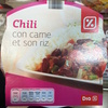 Chili con carne et son riz - Product