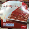 Lasagnes - Product