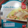 Colin d'Alaska sauce citron et son riz safrané - Produit