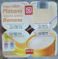 Yogur sabor plátano - Product