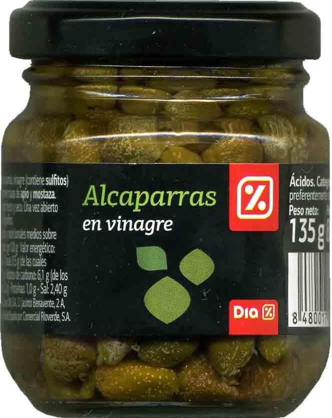 Alcaparras en vinagre - Producte - es
