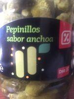 Pepinillos sabor anchoas - Producto