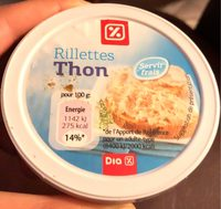 Rillettes thon - Product