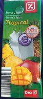 Zumo y leche tropical - Producto - es