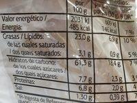 Torta de aceite de oliva - Nutrition facts - es
