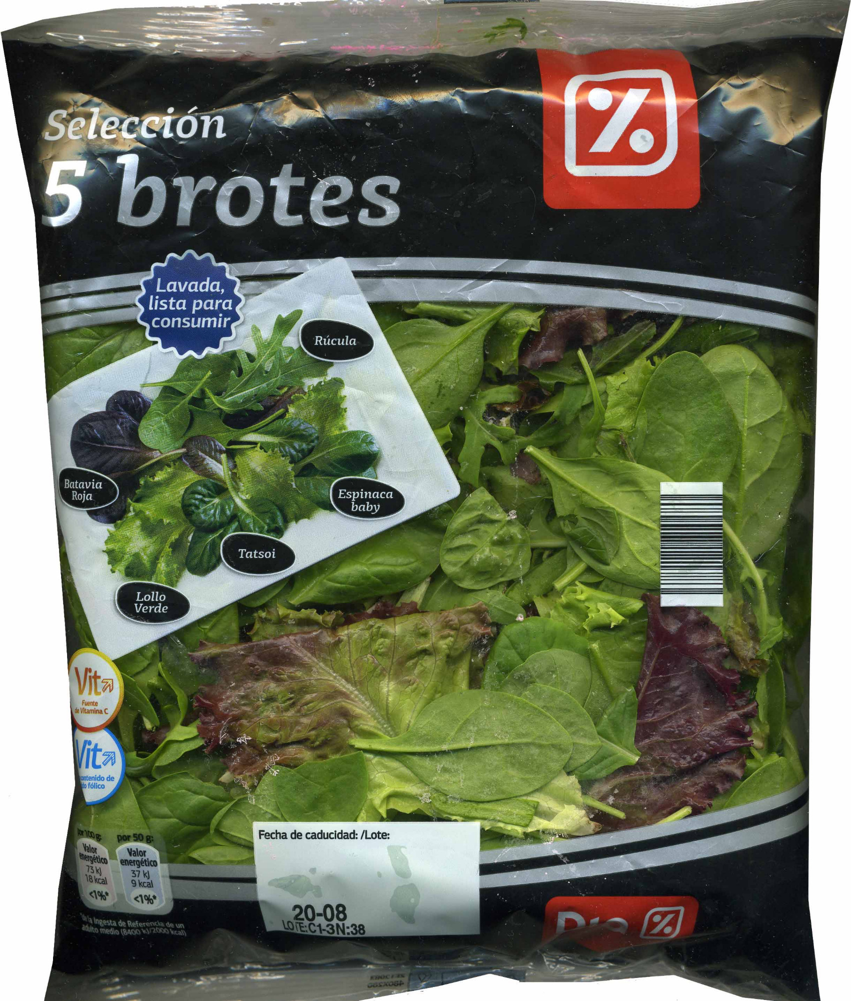 5 brotes - Producto