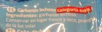 Garbanzo lechozo - Ingredientes - es