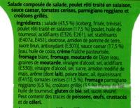 Salade Caesar - Ingrédients - fr