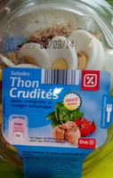 Salades thon crudités - Product