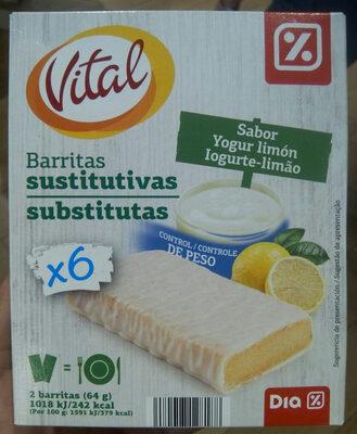 Barritas sustitutivas - Producte