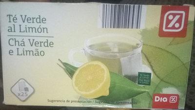 Te verde al limón