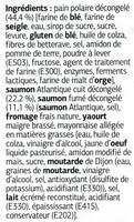 Polaire Duo de Saumon - Ingrediënten - fr