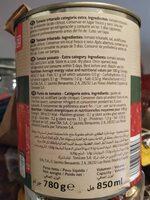 Tomate triturado categoria extra - Ingredientes - es