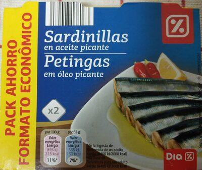 Sardinillas en aceite picante