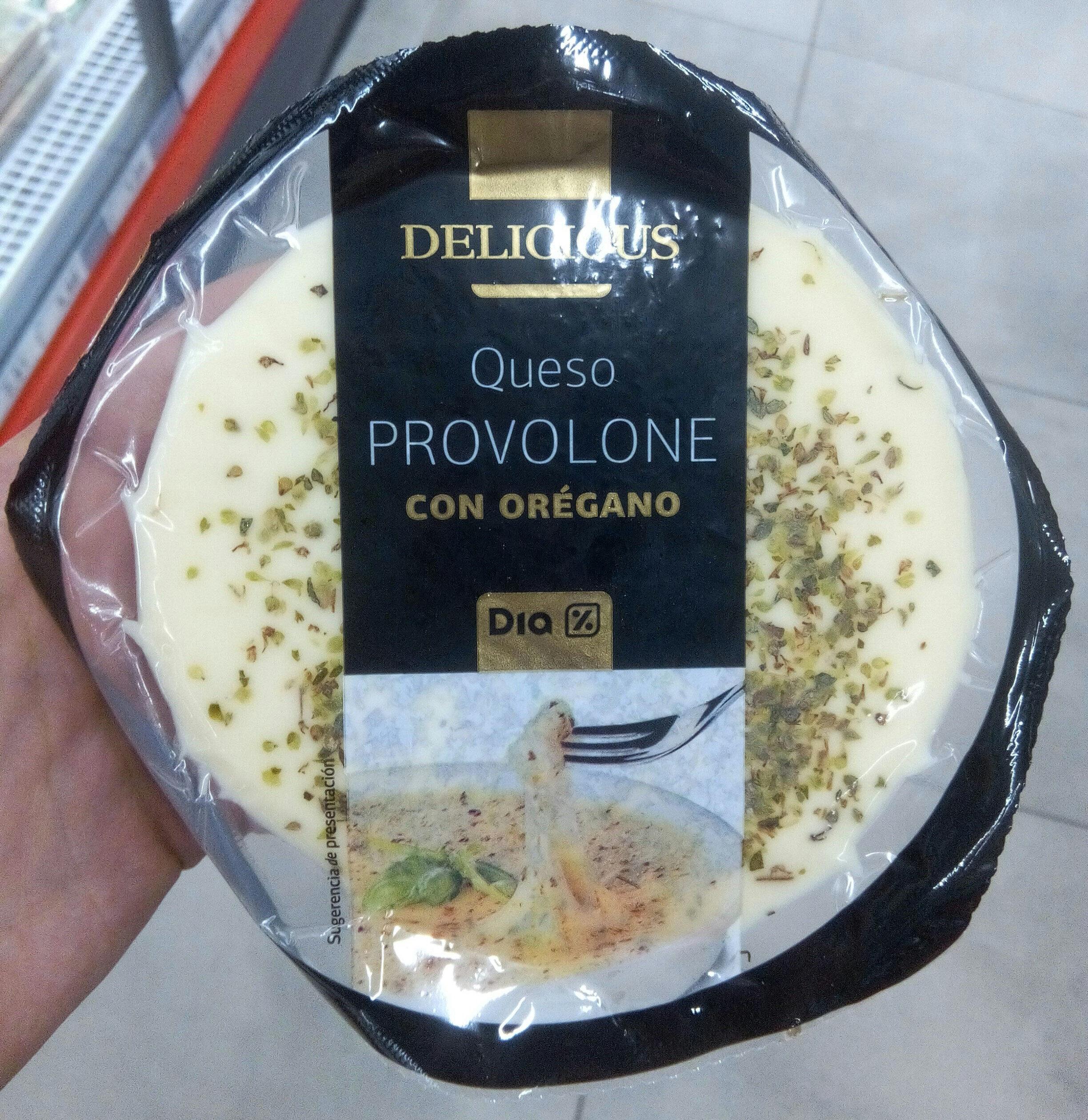 Queso provolone con oregano - Producte - es