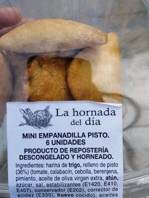 Mini empanadilla de pisto