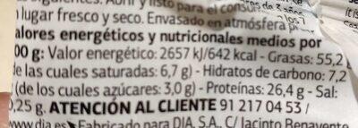 Almendra Marcona - Información nutricional - es