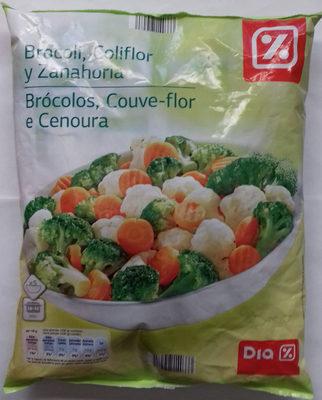 Brocoli coliflor y zanahoria