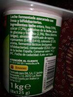 Bifidus con ciruela - Ingredientes - es