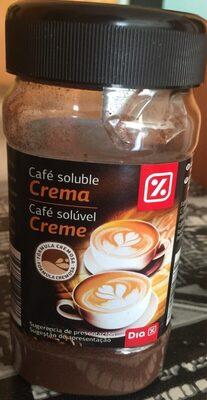 Cafe soluble crema