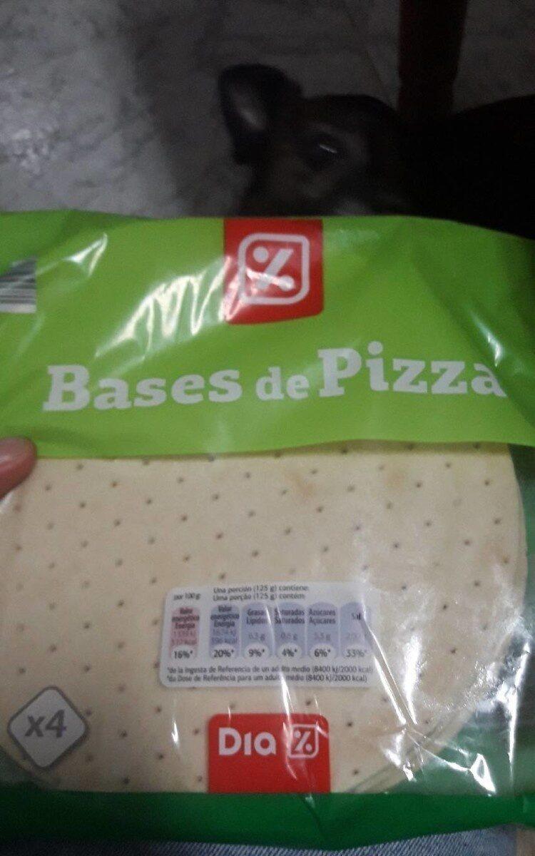 Bases de pizza - Prodotto - es