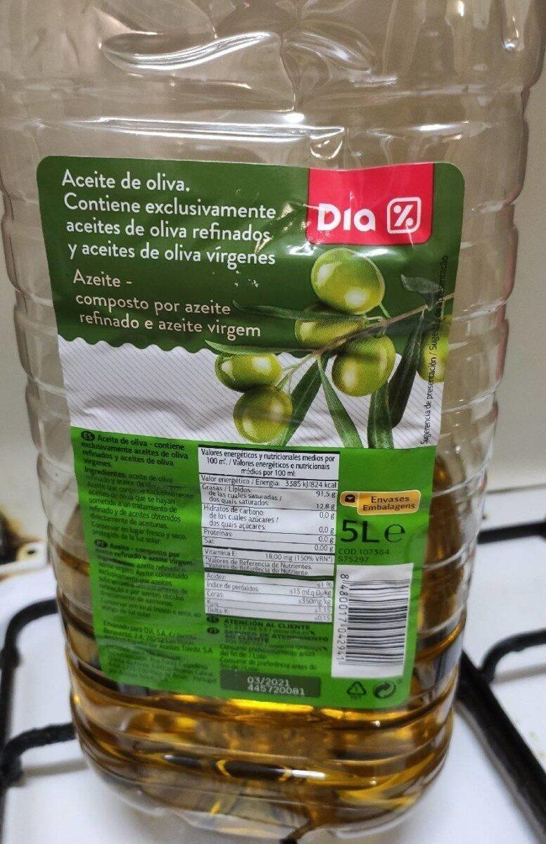 Aceite de Oliva Virgen 5L - Produit - es