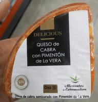 Queso de cabra con pimentón de La VERA - Product
