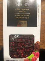 Chocolate negro con frutos rojos DIA - Product - es