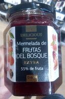 Mermelada de frutas del bosque - Producto