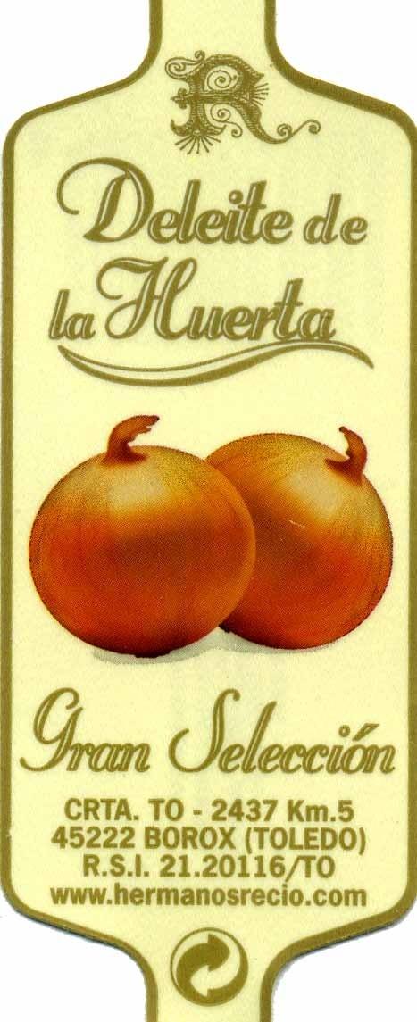 Cebollas - Informations nutritionnelles - es